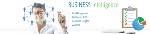 Business Intelligence & Analytics: Data Management, Dashboards & KPI, Automated Insights, Mobile BI